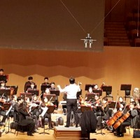 Conducting debut Oct 30th 2014 – Ilsan, Korea – Aramnuri Haydn Hall
